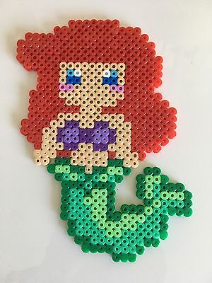 Pixel Art Perles A Repasser Ariel La Petite Sirene De Disney Princesses Ebay