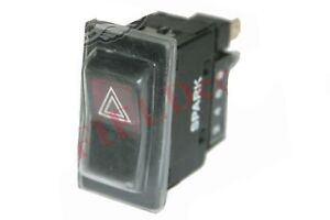 Details about Rubber Protected Hazard Warning Light Switch for Jcb Fork Lift