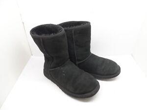 bf00c40ac85 Ugg Australia Women's 5825 Classic Short Sheepskin Boots Black Size ...
