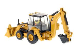 Diecast-Masters-Caterpillar-450E-Backhoe-Loader-1-87-Engineering-Trucks-Model