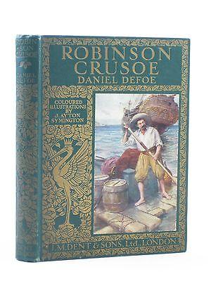 ROBINSON CRUSOE - Defoe, Daniel. Illus. by Symington, J.A.
