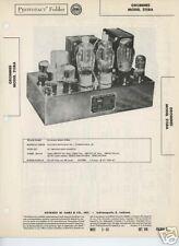 Grommes Model 215BA Amplifier- Sams PhotoFact Tech Docs