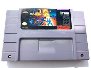 Street-Combat-SUPER-NINTENDO-SNES-GAME-Tested-Working-amp-Authentic