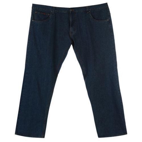 Pierre Pierre Pierre Cardin taille plus grand homme denim jeans 5 poches bleu 56 L A461-1 903b47