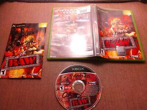 Microsoft-OG-Xbox-CIB-Complete-Tested-WWF-Raw-Ships-Fast