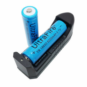 2pcs-Battery-18650-3-7V-5000mAh-Li-ion-Rechargeable-Batteries-amp-Charger-for-Lamp