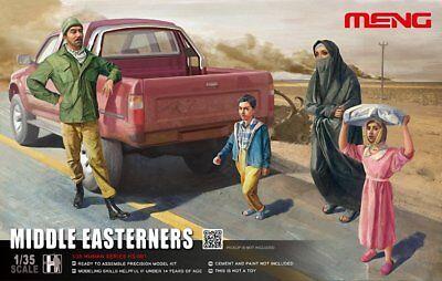 1/35 Meng Models Middle Eastern Citizens, 4 Figures
