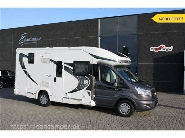 Chausson Welcome 630, 2018, Som ny, km 5000.- enkelt…