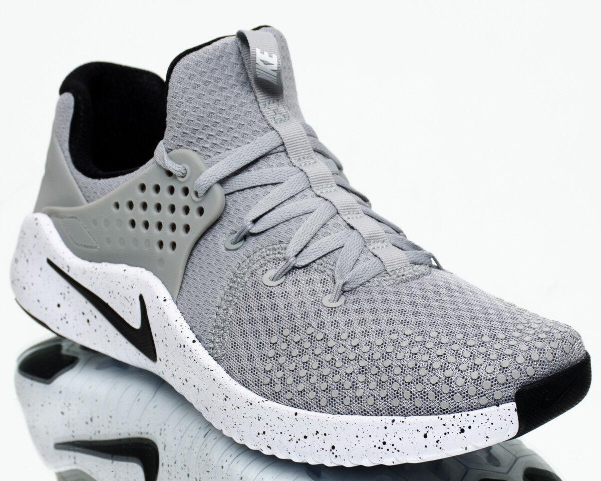 Nike Free Trainer V8 Men Matte Silver Black White Crossfit Training AH9395-001