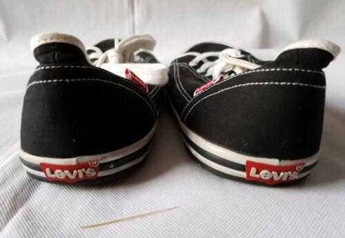 10 Levis Scarpe da misura Black ginnastica Plimsoll wYxw6Rqv1