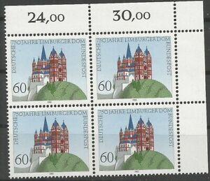 Federal-Frg-Minr-1250-Mint-Block-of-Four-Corner-2-Unfolded