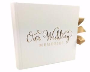 Wedding Photo Album 80 6x4 With Verse Design Gift Wg704 Ebay