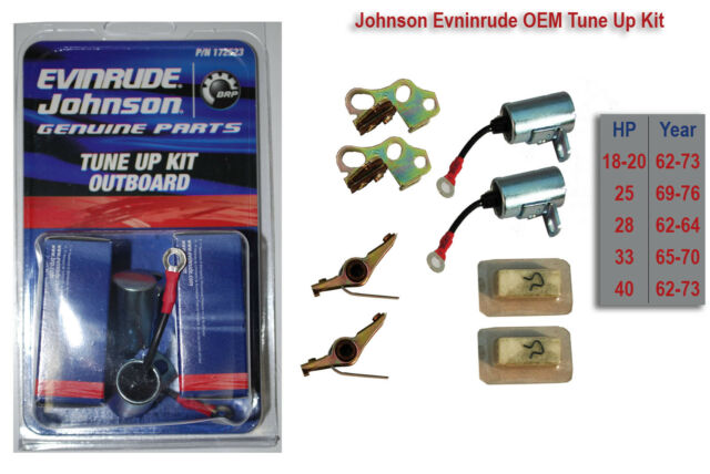omc wiring harness boat parts ebay f9a genuine evinrude johnson omc 172523 ignition tune up kit oem  f9a genuine evinrude johnson omc 172523