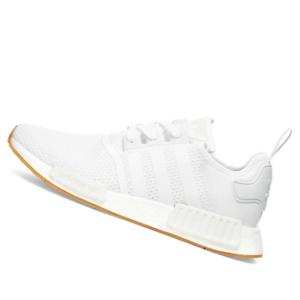 Adidas Mens Shoes Nmd R1 White Gum D96635 Ebay