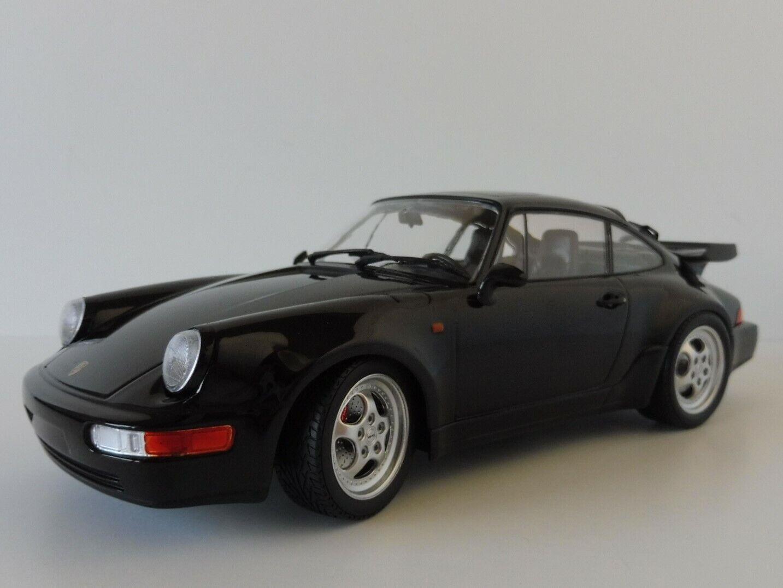 Porsche 911 turbo 1990 nero 1 18 Minichamps pma 155069104 964