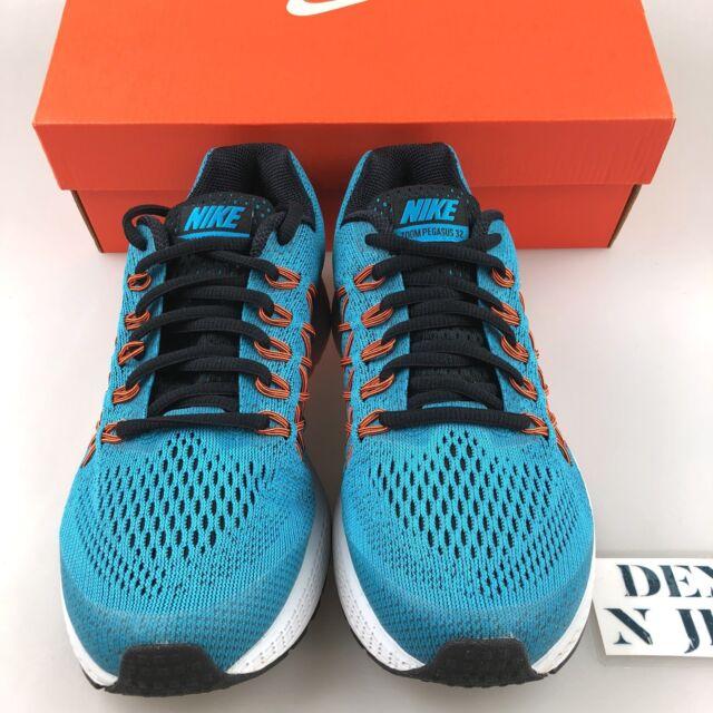 baskets pour pas cher a4433 814ff Nike Boy's Zoom Pegasus 32 (gs) Running Shoes Blue Logan Sneakers 759968401