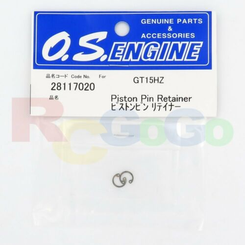 REPLACE OS28117010 O.S PISTON PIN RETAINER GT15HZ # OS28117020 Engines Parts