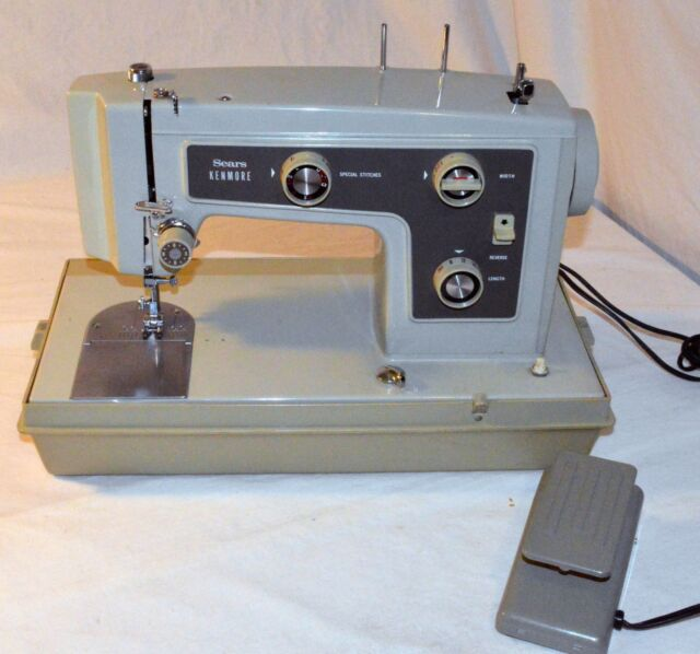 Vintage Sears Kenmore Sewing Machine Model 40 40 Like EBay Simple Kenmore Sewing Machine Vintage