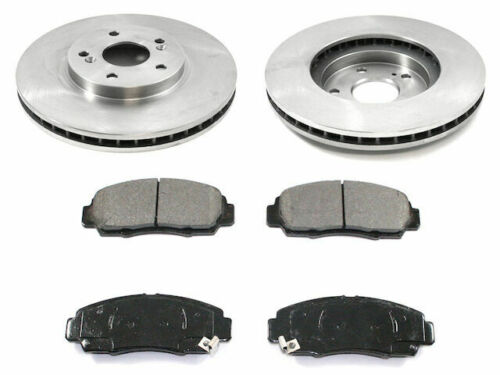 Front Brake Pad and Rotor Kit For 2009-2010 Acura TSX S717SQ