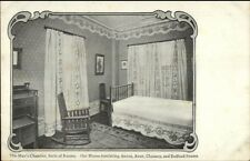 Boston MA Jordan Marsh Series Man's Bedroom Chamber c1910 Postcard