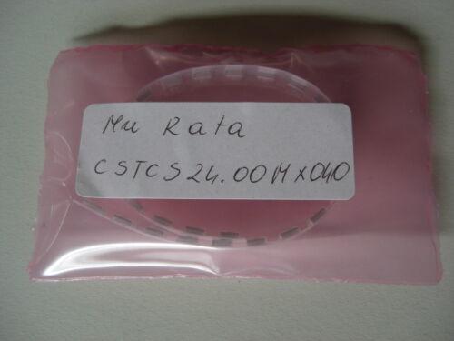 24.00 murata cstcs CERAMICA-Resonatoren 25 St e0174