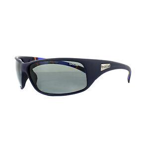 348ee570477 Image is loading Bolle-Sunglasses-Recoil-11966-Matt-Blue-Stripes-Modulator-