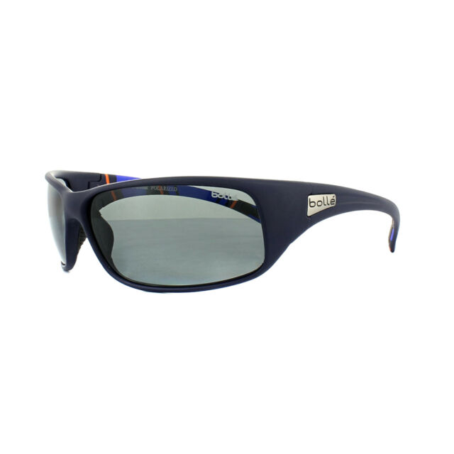 1d45786a7f8 Bolle Sunglasses Recoil 11966 Matt Blue Stripes Modulator Grey Polarized
