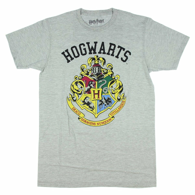 Hogwarts Maglietta a Maniche Corte Donna HARRY POTTER