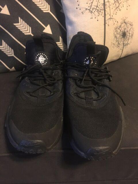 cheaper d3a0e 51be2 Nike Air Huarache Run Ultra Sz 11 Triple Black 819685 002