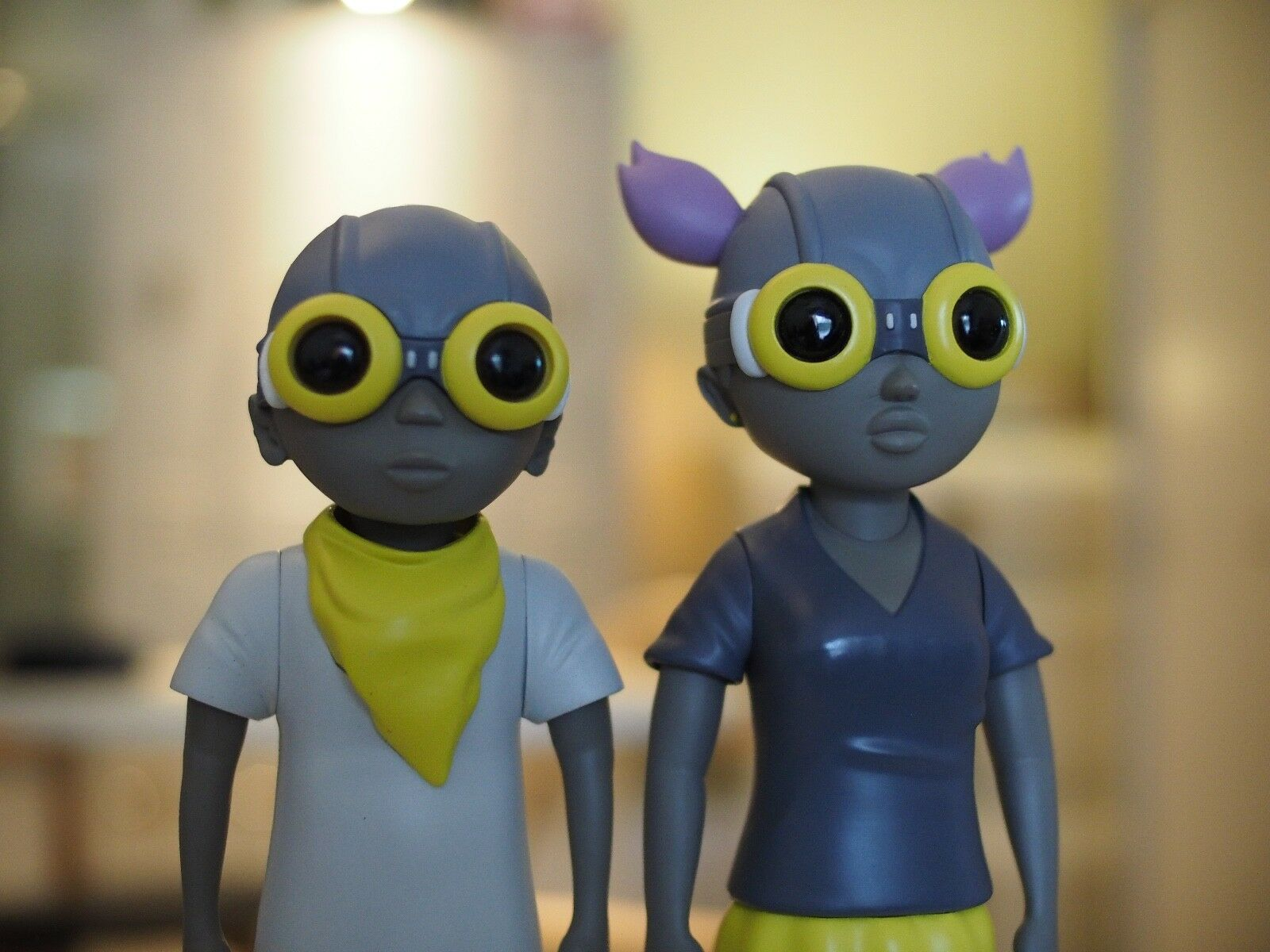 Hebru Brantley MELLOW YELLOW Flyboy & Lil Mama Fly Girl Set