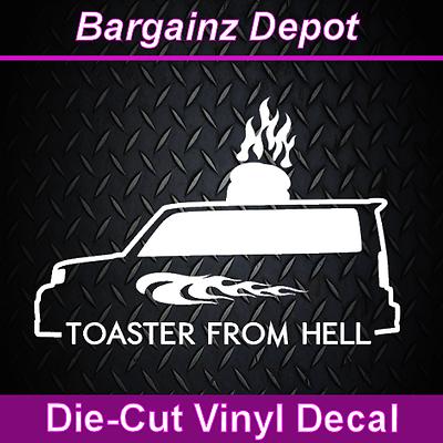 "scion xb cube 6.5/"" FUN BOX vinyl decal car window laptop sticker"