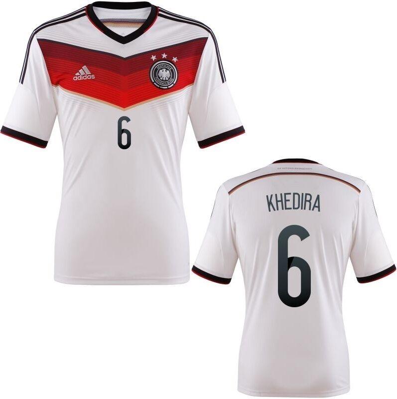 Trikot Adidas DFB WM 2014 Home - Khedira 6  Fußball Deutschland    Online Shop