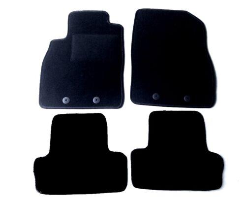 Passform-Velours-Fußmatten für Opel Ampera mit Befestigungen