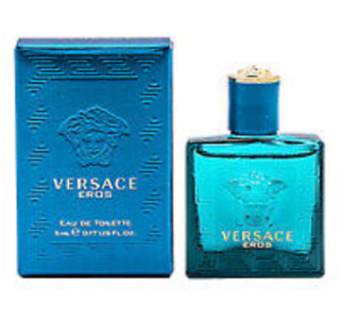 Versace Eros Men's Eau de Toilette Spray 0.17-oz