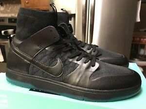 huge inventory e71c0 60cad Image is loading Nike-SB-Zoom-Dunk-High-Elite-917567-003-