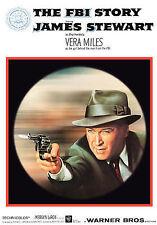 DVD The FBI Story: James Stewart Vera Miles Parley Baer Stacy Keach Edgar Hoover