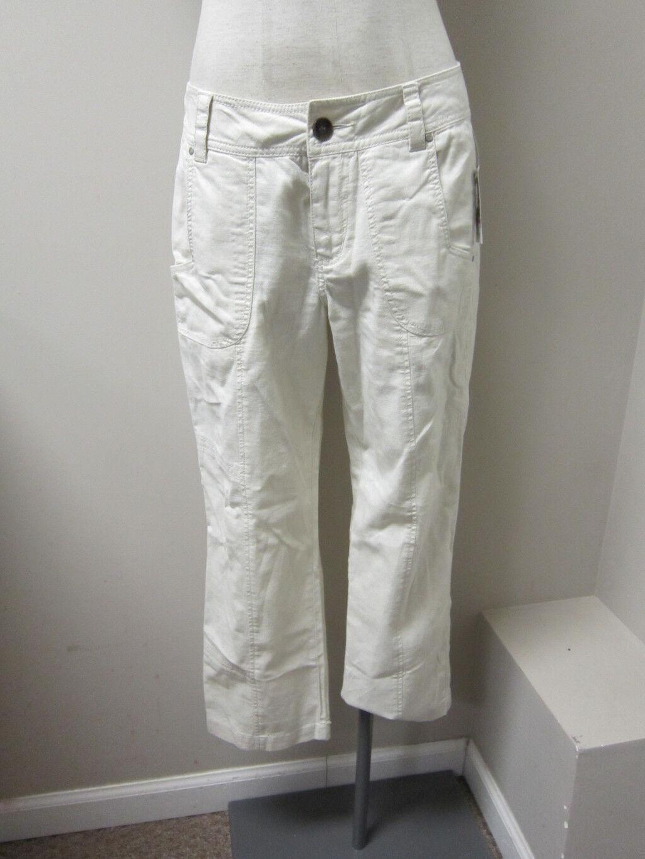 WORN Jeans Brandi Crop Pant Mikki Rise  6 natural  NWT  79