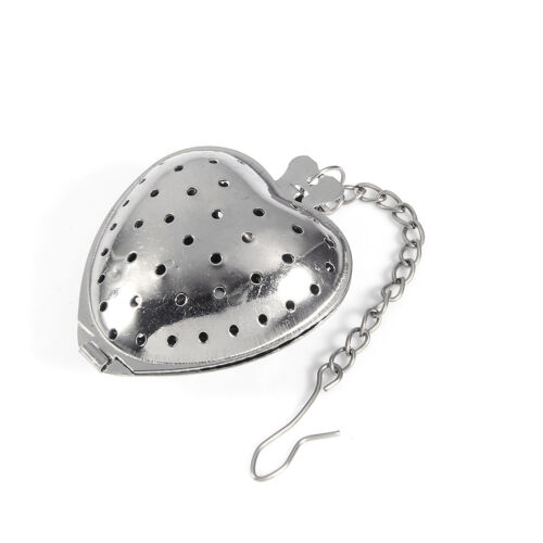 Tea Ball Strainer Infuser Stainless Steel Filter Squeezer Herb Leaf Spice Star J