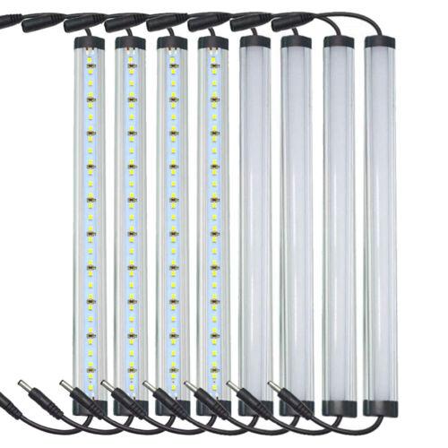 12/'/' LED Under Cabinet Lighting Shelf Counter Kitchen Light 1FT 5000K Kit Lamp