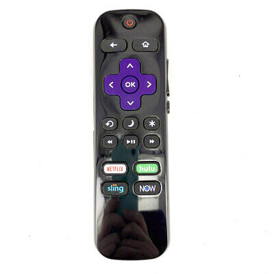 Sharp LC-RCRUS-20 LC-RCRUDUS-20 for Select Hisense//Sharp Roku TVs OEM Remote