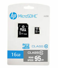 HP 16 GB MICRO SD CARD 95 MB/s (Class 10) With Adapter --16gb microsd HP