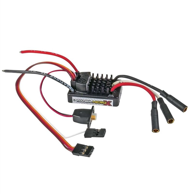 Castle Creations 1 18th Mamba Micro X Waterproof ESC CSE010-0147-00