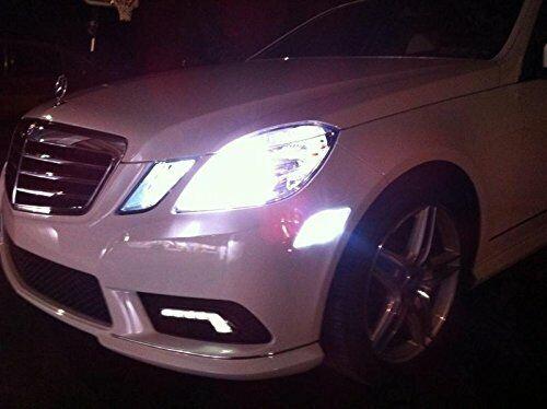 MERCEDES Benz W211 S211 5 SMD LED Luce Laterale Di Parcheggio Lampadine Xenon Bianche W5W