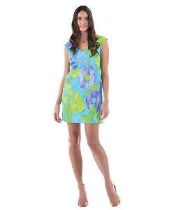 NEW-Jams-World-Sherry-Dress-Pacific-Breeze-Hawaiian-Sundress-XL-Made-in-USA