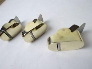 3pcs-034-hill-034-Style-Brass-Mini-finger-planes-2pcs-convex-bottom-1pcs-flat-bottom