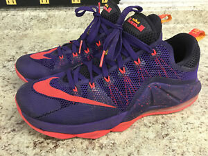 brand new 1d6be 9c7a1 Image is loading Mens-Nike-Lebron-12-XII-Low-Sz-12-