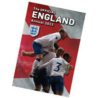 The Official England National Team Soccer Football Annual Yearbook 2012