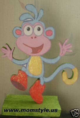 Boot the monkey centerpiece Birthday Party Decoration
