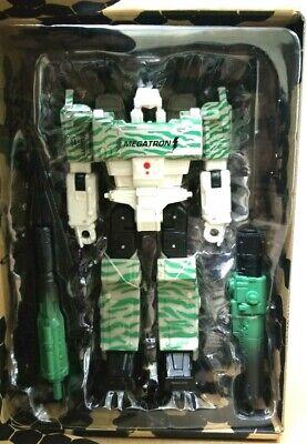 Transformers la guerre pour Cybertron siege Voyager G2 Combat megatron G1 NEW EN STOCK