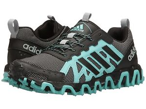 Women's adidas Incision Trail W Running Shoes S80729 Sizes 6-8 Easy Mint/Black